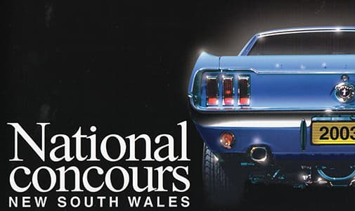 2003 Mustang Nationals